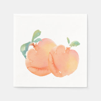 Peaches Disposable Napkin
