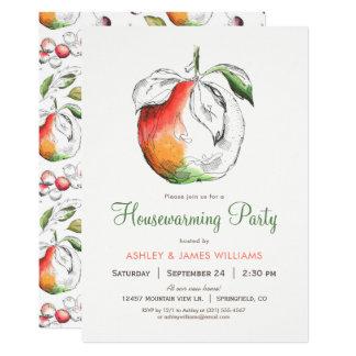 Peaches Housewarming Party Invitation