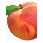 peaches letterhead
