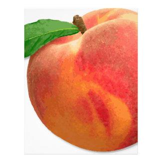 peaches letterhead