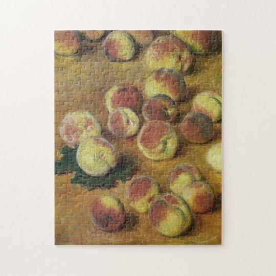 Peaches Monet Fine Art Jigsaw Puzzle