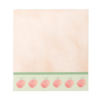 Peaches Notepad