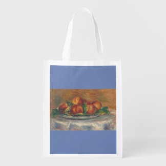 Peaches on a Plate Reusable Grocery Bag