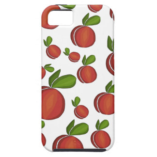 Peaches pattern iPhone 5 cover