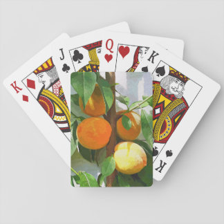 PEACHES PLAYING CARDS