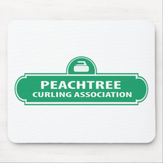 Peachtree Curling Logo Mousepad
