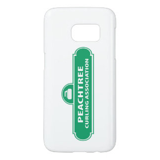 Peachtree Curling Logo Samsung 7 Case