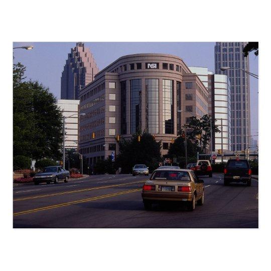 Peachtree Street, Atlanta, Georgia, U.S.A. Postcard