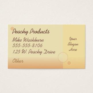 Peachy Business Card