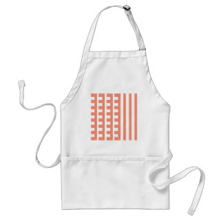 Peachy Combs Tooth Standard Apron