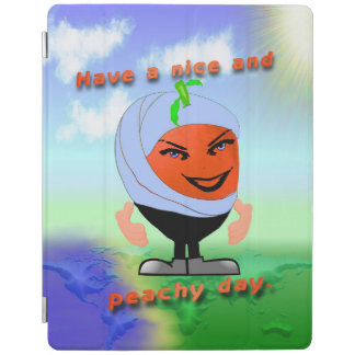 Peachy in Arabia iPad Cover