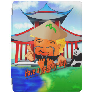Peachy in China iPad Cover