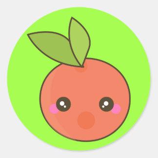 Peachy Keen Classic Round Sticker