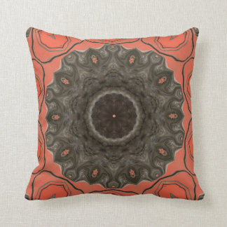 Peachy Keen. Throw Pillow