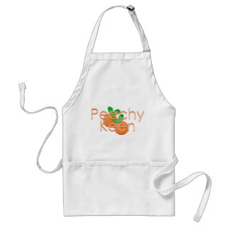 Peachy Keen With Peaches Standard Apron