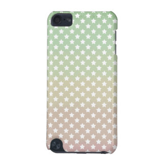 Peachy Mint Stars iPod Touch 5G Case