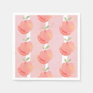 Peachy Paper Napkin