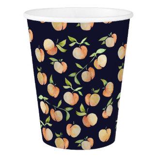 Peachy Peaches Paper Cup