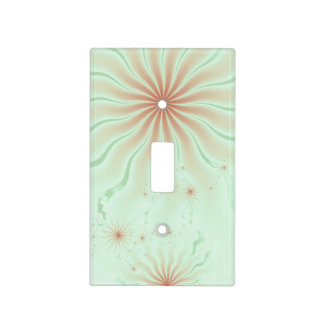 Peachy Rays Light Switch Cover