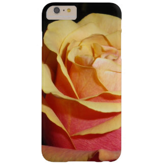 Peachy Red Rose Barely There iPhone 6 Plus Case