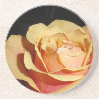 Peachy Red Rose Coaster