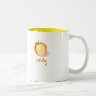 peachy Two-Tone mug