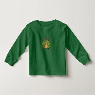 Peacock 1 toddler t-shirt
