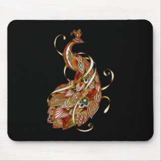 Peacock 2b mouse pad