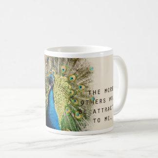 Peacock Affirmation Mug