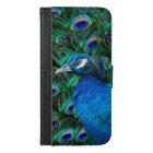 Peacock and Feather iPhone 6/6s Plus Wallet Case