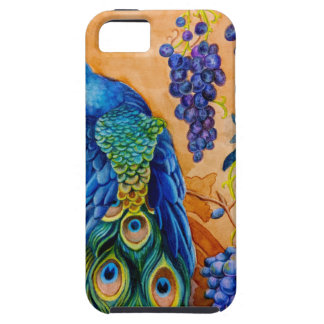 Peacock and Grapes iPhone 5 Case