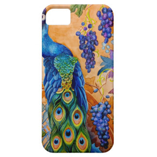 Peacock and Grapes iPhone 5 Cover