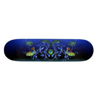 Peacock Bass Splash Skateboard Deck