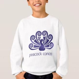 Peacock Bird Peafowl Icon Concept Sweatshirt