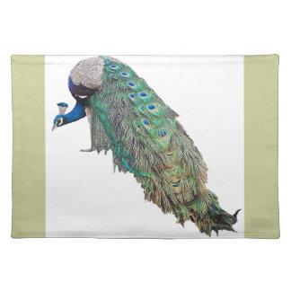 Peacock Bird Place Mat