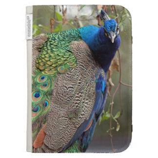 Peacock Bird Wildlife Animal Feathers Kindle Case