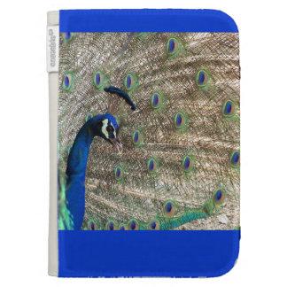 Peacock Bird Wildlife Animal Feathers Kindle Folio Cases