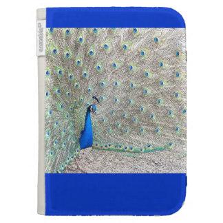 Peacock Bird Wildlife Animal Feathers Kindle Keyboard Cases