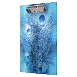 Peacock Blue Clipboard