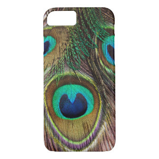 Peacock Blue Teal iPhone 7 Case