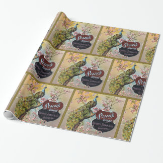 Peacock Brand Citrus Wrapping Paper