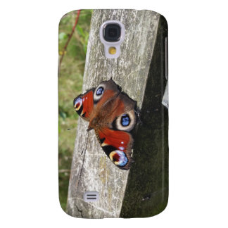 Peacock Butterfly Galaxy S4 Case