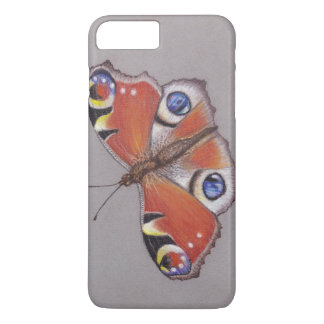 Peacock Butterfly iphone 8 plus/ 7 plus Case