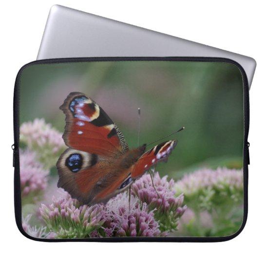 Peacock Butterfly Laptop Sleeve