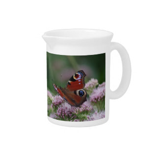 Peacock Butterfly Pitcher