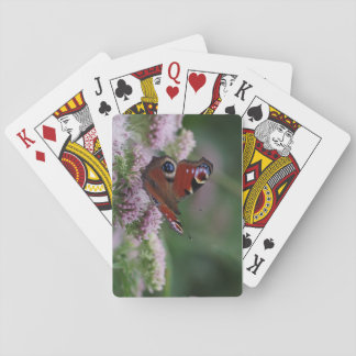 Peacock Butterfly Playing Cards