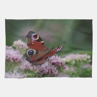 Peacock Butterfly Tea Towel