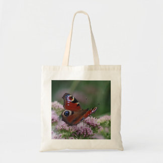 Peacock Butterfly Tote