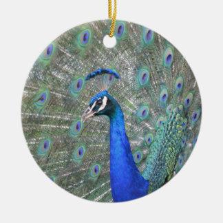 Peacock Ceramic Ornament