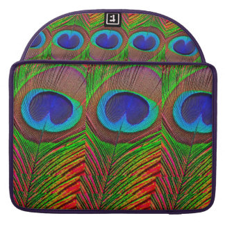 Peacock colored sleeve for MacBooks